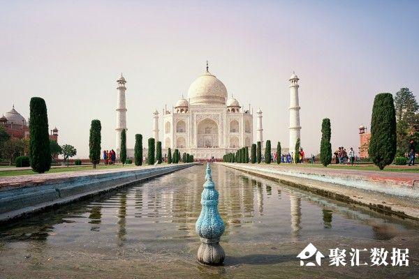 conew_摄图网_500922765_印度泰姬陵地标景点(企业商用)