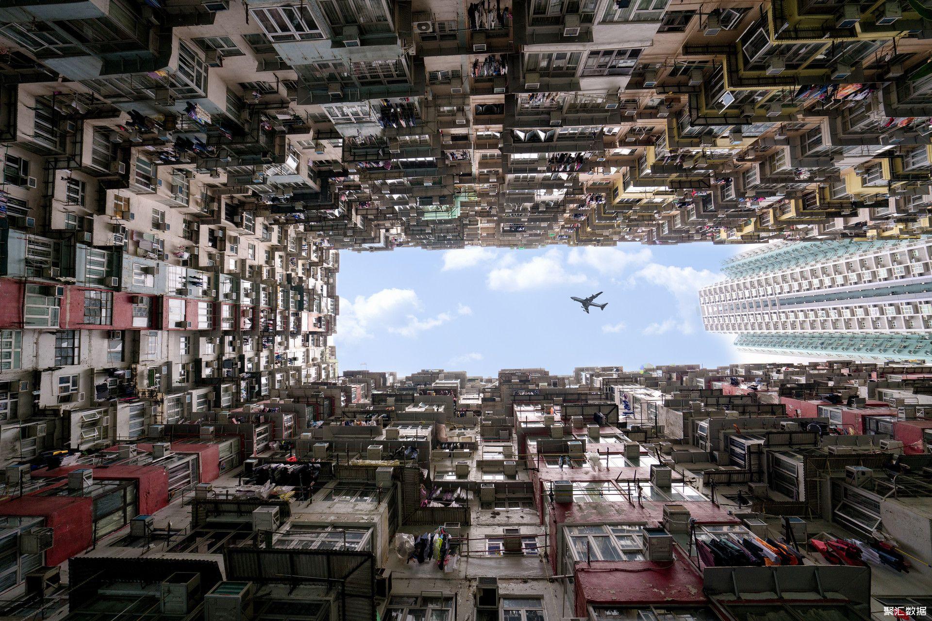 摄图网_500634659_banner_香港密集的居民区城市上空(企业商用)